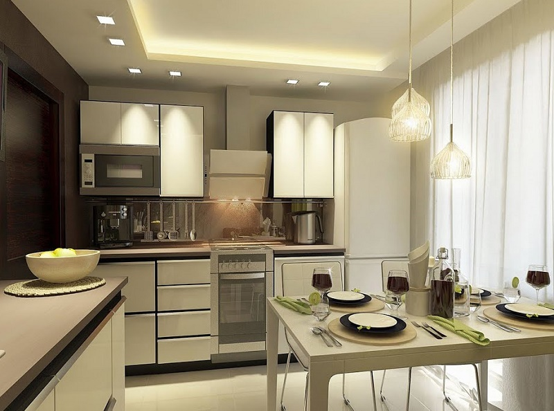 Рабочее освещение на кухне: как сделать правильно