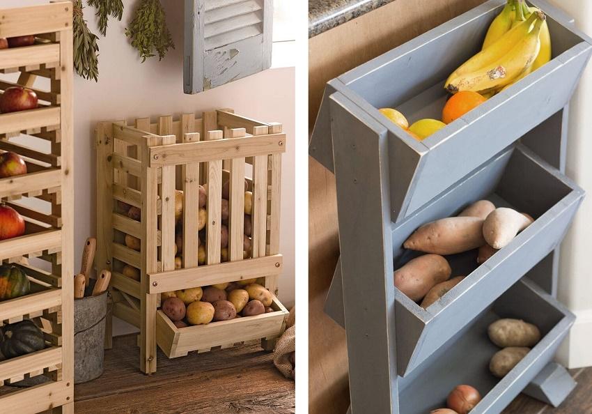 этажерка для хранения овощей своими руками