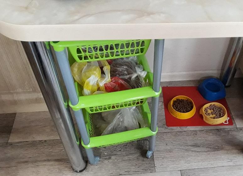 этажерки для хранения овощей на кухне