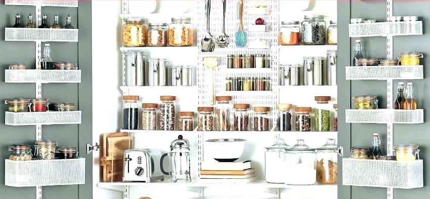 как организовать систему хранения специй на кухне