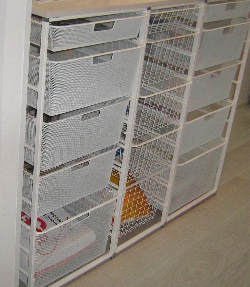 комоды для хранения овощей на кухне