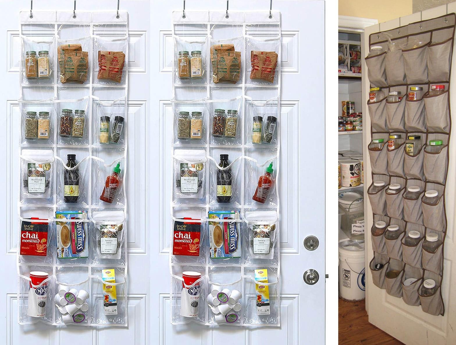 органайзеры для хранения специй на кухне
