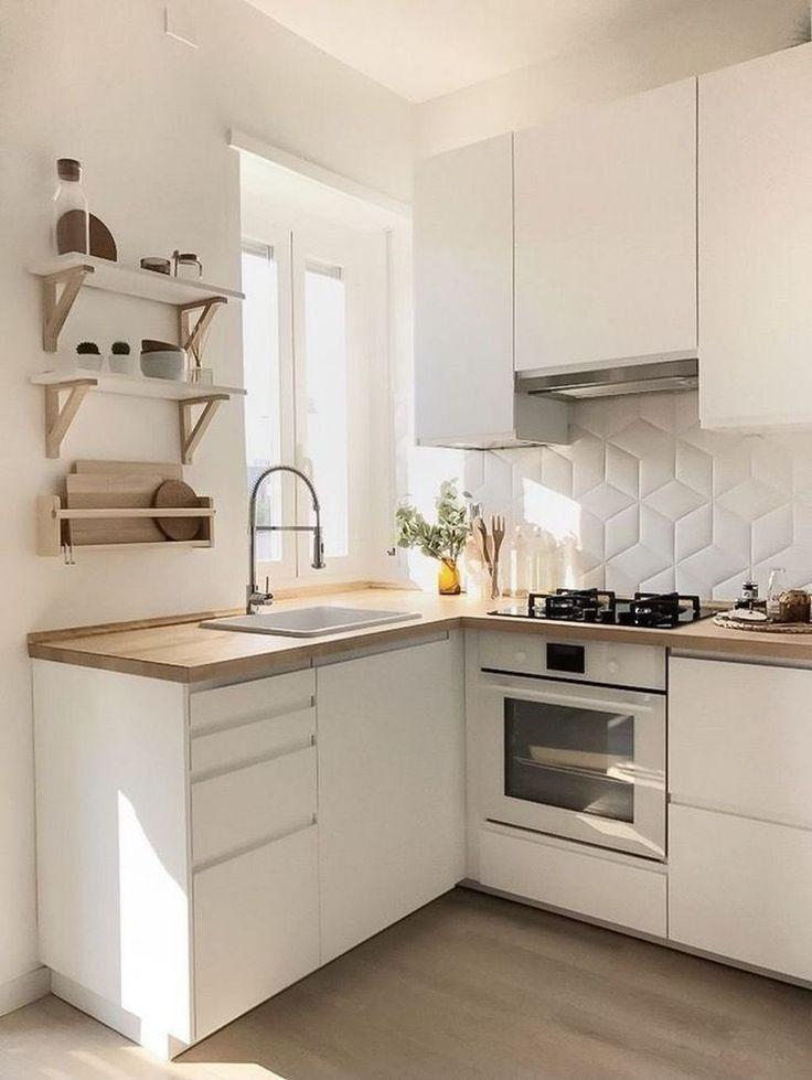 фото дизайна интерьера для маленькой современной кухни