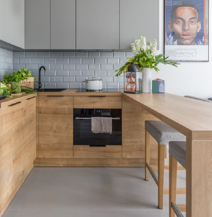 правильное планирование кухни столовой