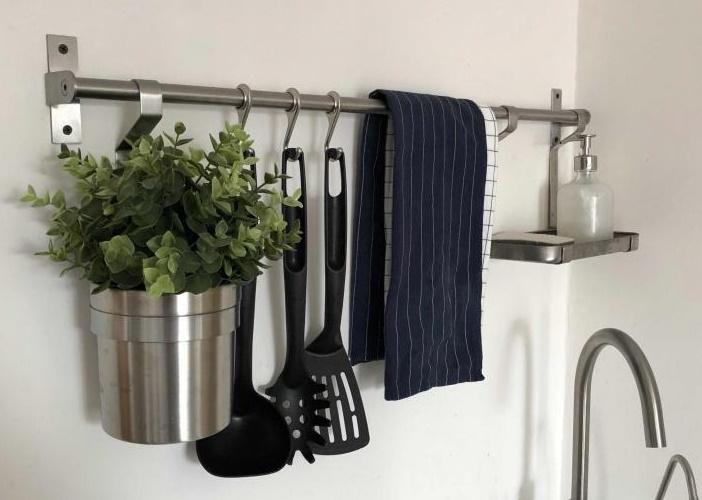 Навесные рейлинги для кухни икеа