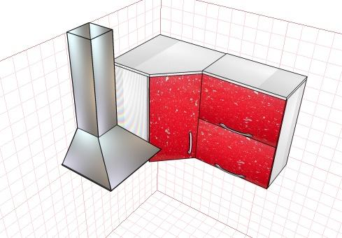нюансы проектирования угловой кухни