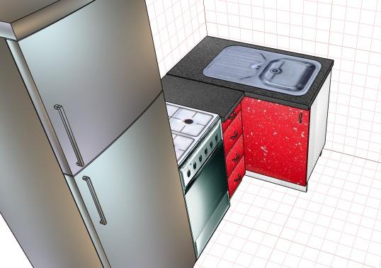 ошибки при планировании кухни