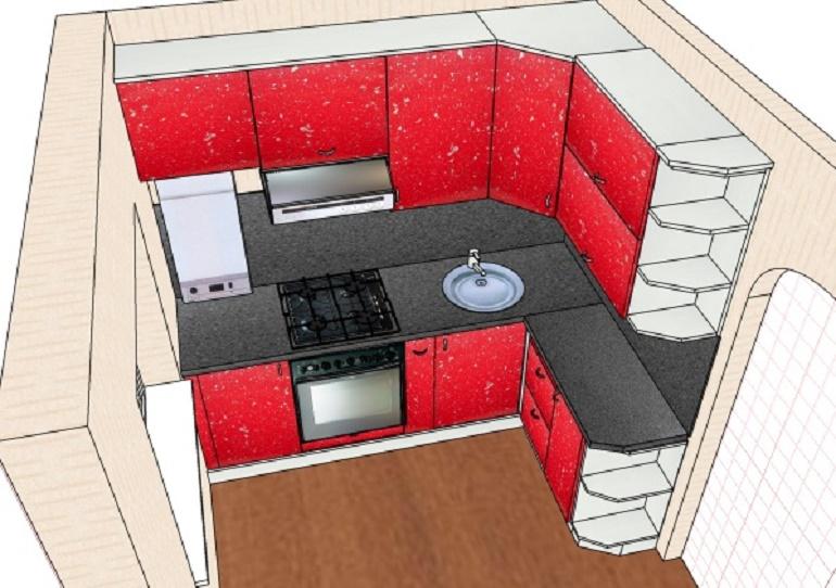 Основные ошибки при проектировании кухни