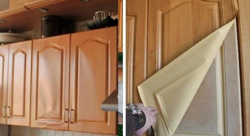 Реставрация фасадов МДФ кухни и другой корпусной мебели