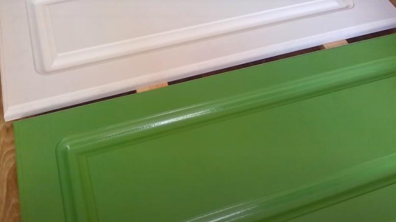 как покрасить мдф фасады своими руками