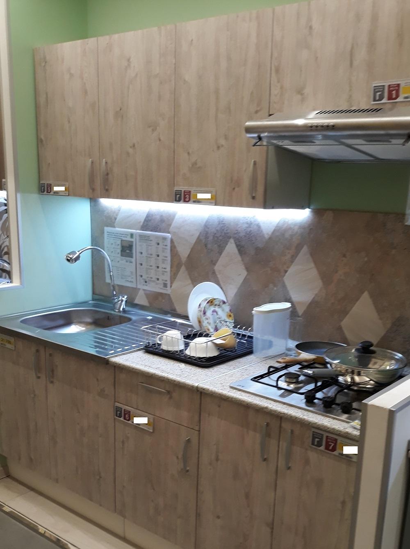 фото прямой кухни Леруа Мерлен