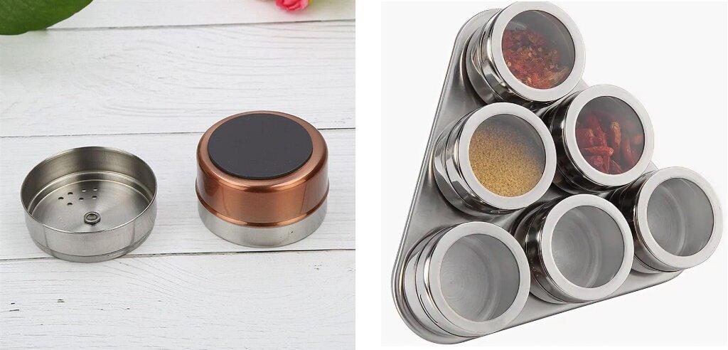 Кухонные магниты: обзор держателей для ножей, специй и других аксессуаров для кухни на магнитной основе