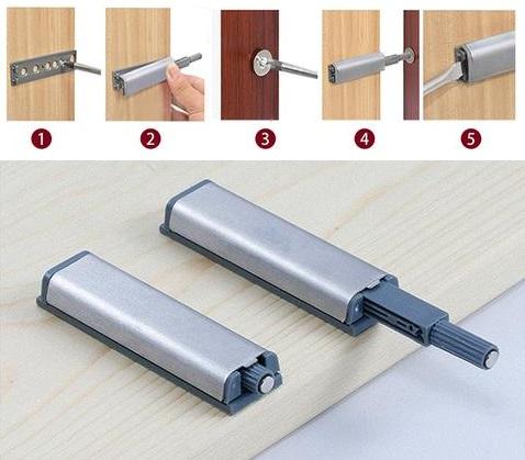магнитные толкатели для открывания от нажатия
