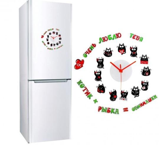 таймер часы кухонные с магнитом на холодильник