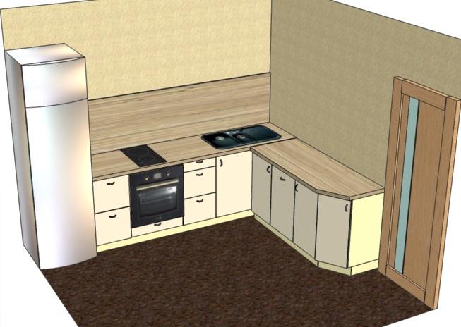 проектирование кухни в мебельной программе