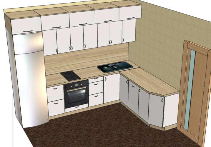как спроектировать кухню в про100